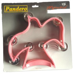 Tambourine Dove Shaped Pink