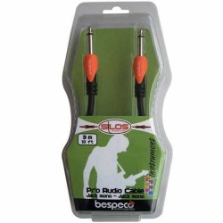 Bespeco 1/4 x 3ft instrument cable