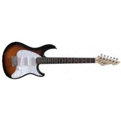 Pavey Raptor Electric Guitar Tobacco Sunburst