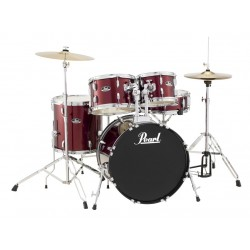 Pearl RoadShow 5 pieces DrumKit Red
