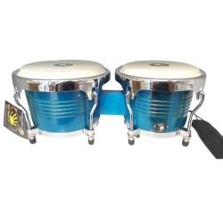 """Bongo 5d2 7.5"""" × 6.5""""Azul"""