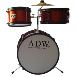 ADW Junior 3 pieces Drum Set