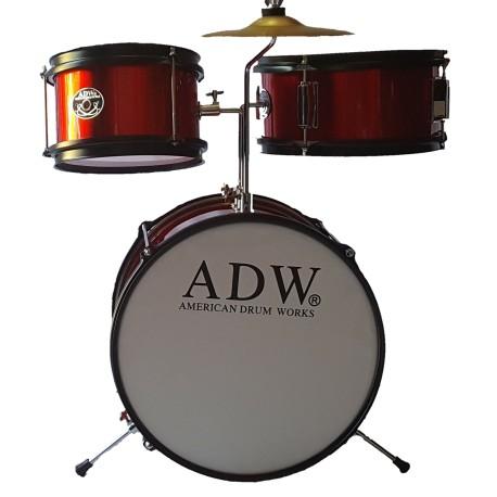 ADW Junior 3 pieces Drum Set