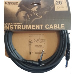 D'Addario PW Classic Series Instrument Cable 20 ft.