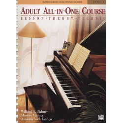 Alfred's Basic Adult All-in-One Course, Book 1