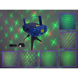 Voice Control Laser Stage Lighting