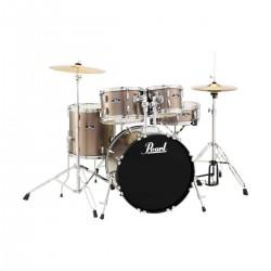 Pearl RoadShow 5 pieces DrumSet Metalic